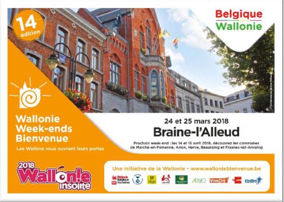 Wallonie Week-end Bienvenue à Braine-l'Alleud