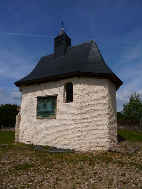 La chapelle de la ferme d'Hougoumont © R. Pické