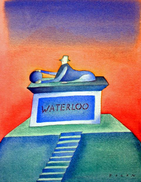 Waterloo © Fondation Folon