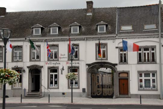 La victoire française à Mont-Saint-Jean au Musée Wellington