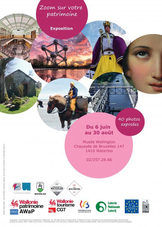 Double exposition « Zoom sur votre patrimoine » et « Patrimoine artistique waterlootois » au Musée Wellington