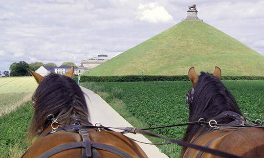 Balade en calèche au Mémorial de Waterloo 1815