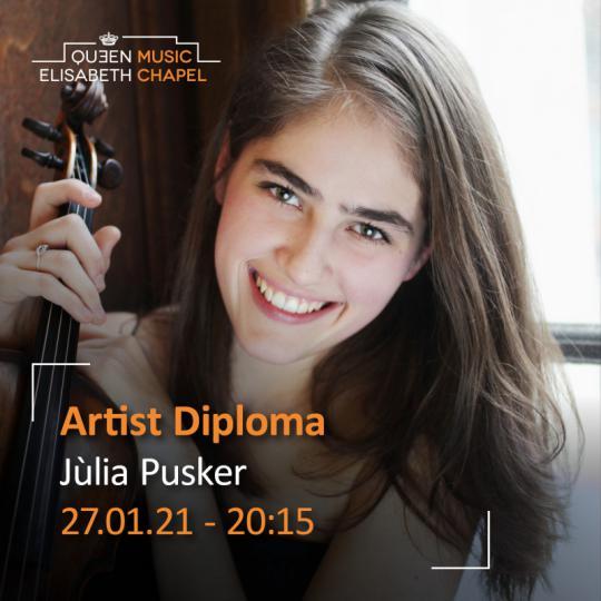 Artist Diploma - Julie Gebhar à la Chapelle Musicale Reine Elisabeth